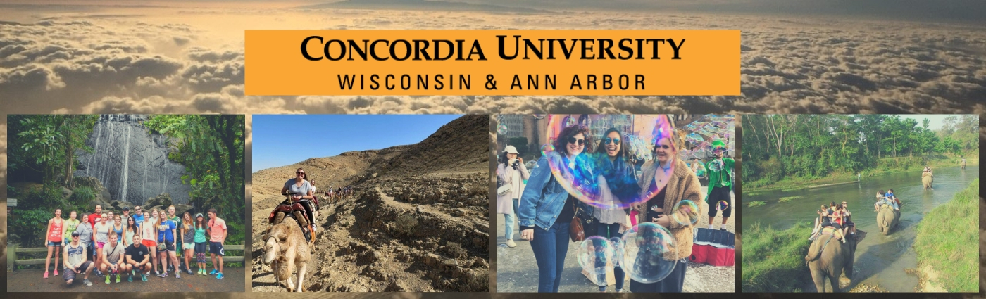 Study Abroad Office - Concordia University Wisconsin & Ann Arbor